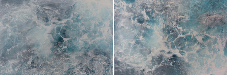 SPLISH SPLASH DIPTYCH